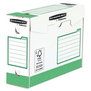 Archivschachtel Bankers Box System, B100xT345xH253 mm, grün, Pk. à 20 Stk.