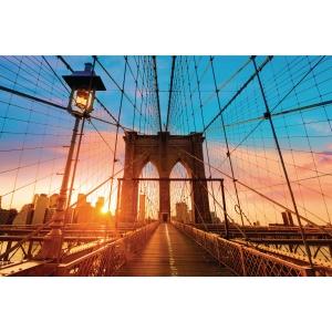 Paperflow decoratieve lijst Brooklyn Bridge, 65 x 98 cm