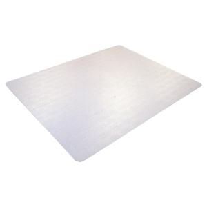 Floortex antimikrobielle Schutzmatte, 43 x 56 cm, transparent