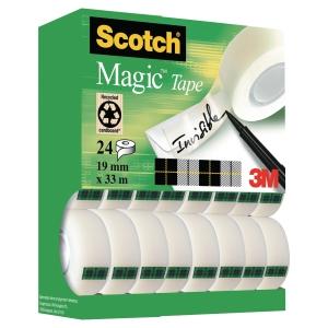 Scotch® Magic™ Tape Tower Pack Of 24 Rolls 19 mm X 33 M