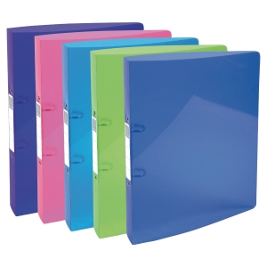 PK5 IDERAMA 2-RING BINDER PP 30MM ASSTD