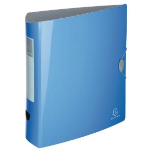 Iderama Rigid PP-Standardordner, blau, Rückenbreite 7,5 cm