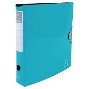 Iderama Rigid PP-Standardordner, farba hellblau, Rückenbreite 7,5 cm