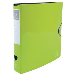 Iderama Rigid PP-Standardordner, farba anisgrün, Rückenbreite 7,5 cm