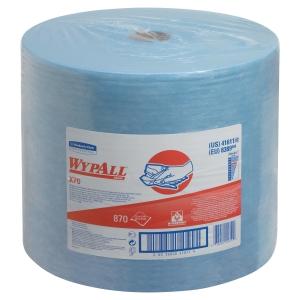 Rollo de paños industrial Wypall X70 - 29,58 m - azul