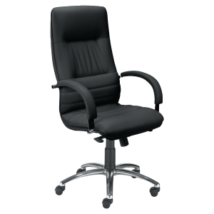 Optimum management chair black