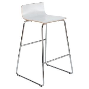 PAMA WHITE HIGH STOOL