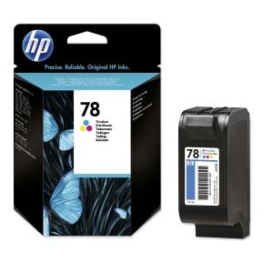 Tintenpatrone HP C6578D - 78, 450 Seiten, 3farbig