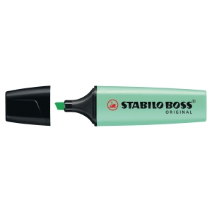 Stabilo Boss Original Pastel Highlighters Pack Of 10 Hint Of Mint