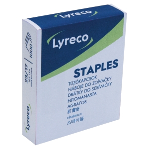 Lyreco Staples No.23/17 - Pack Of 1000