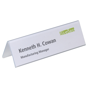 DURABLE PLACE NAME HOLDERS 210 X 61MM