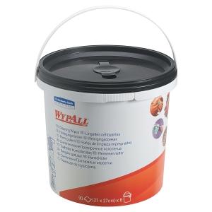 Salviette umidificate per pulizia Wypall® Kimberly-Clark in secchiello - conf.90