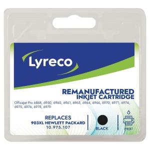 LYRECO kompatible Tintenpatrone HP 903XL (T6M15A) schwarz