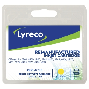 Lyreco HP T6M11A 903Xl Compatible Inkjet Cartridge Yellow