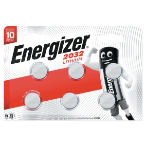 Batteri ENERGIZER CR2032 coin litium 3v