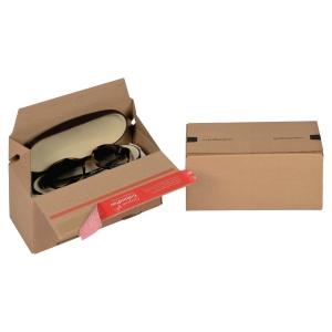 EURO krabica ColomPac®, 195 x 95 x 90 mm, hnedá, 20 kusov