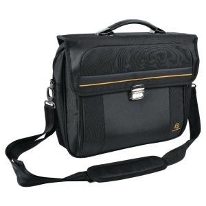 "Exactive briefcase laptoptáska, 15,6""  fekete"