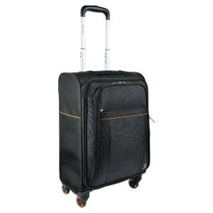 Valise cabine 4 roulettes avec trolley Exactive pour ordinateur - 15,6  - noir