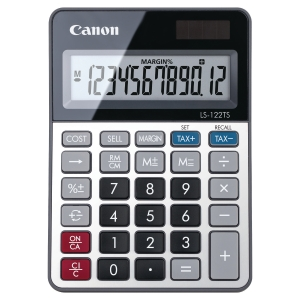 Canon LS-122TS 12 Digit Desktop Calculator