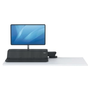 FELLOWES LOTUSDX SIT/STD WORKSTATION BLK