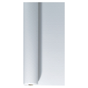 Duni papieren tafellaken 1,20x100 m wit