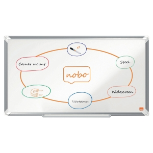Nobo WideScreen 32 Nano Clean Magnetic Whiteboard