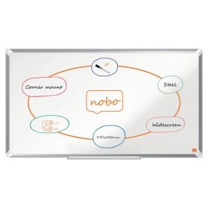 Nobo WideScreen 40 Nano Clean Magnetic White Board