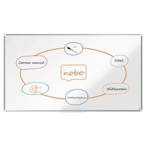 Tableau blanc laqué Nobo Nano Clean™ - magnétique - 106 x 188 cm