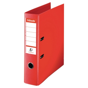 Esselte lever arch file PP spine 75 mm red