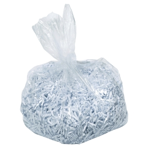 PACK DE 100 SACS PLASTIQUE AS3000 POUR DESTRUCTEUR FORMAT LARGE 40095