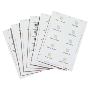 DURABLE 1455 BADGE MAKER INSERTS 54 X 90MM - PACK OF 200