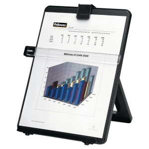 FELLOWES 21106 WORKSTATION COPYHOLDER BLACK