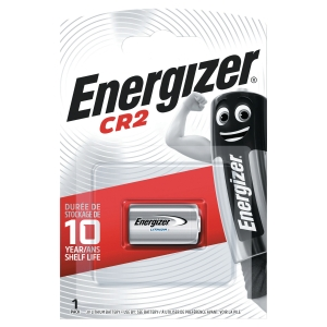 BATTERIE AL LITIO ENERGIZER CR2 - 3V CONF. 1