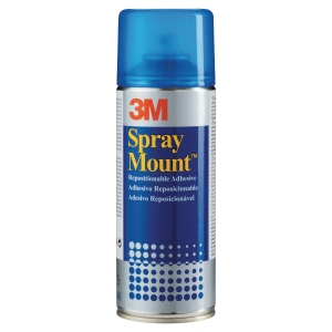 Adhesivo reposicionable en spray 3M Spray Mount 400 ml