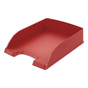 Briefkorb Leitz 5227, stapelbar, Maße: 255 x 357 x 70mm, rot