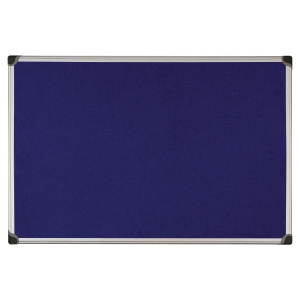 Bi Office fabric noticeboard 90x120 cm blue