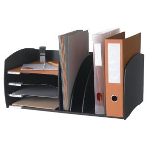 Brevstativ Paperflow Evolution bordorganiser, sort