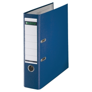 LEITZ 180 BLUE A4 POLYPROPYLENE LEVER ARCH FILE 80MM