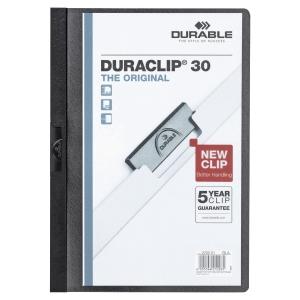 Durable 2200 Duraclip Folder A4 Black