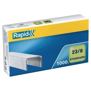 Rapid 38952 staples 23/8 galvanized 20-50 sheets - box of 1000