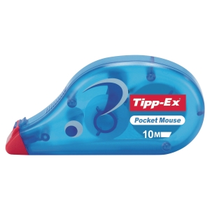ROLLER DE CORRECTION JETABLE TIPP-EX POCKET MOUSE LARGEUR 4,2MM LONGEUR 10 M