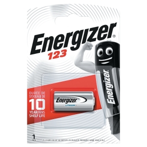 Energizer Lithium Photo 123 Pk1