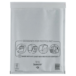 MAIL LITE WHITE POSTAL BAGS 270 X 360MM (10 13/16 X 14 7/8INCH) - BOX OF 50