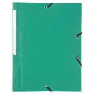 Obal na dokumenty se 3 klopami Lyreco - zelený
