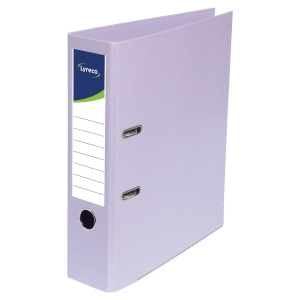 Lyreco lever arch file PP spine 80 mm lilac