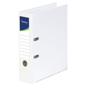 Lyreco lever arch file PP spine 45 mm white