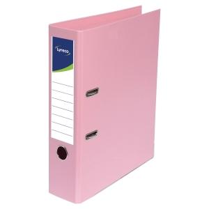 Lyreco lever arch file PP spine 45 mm pink