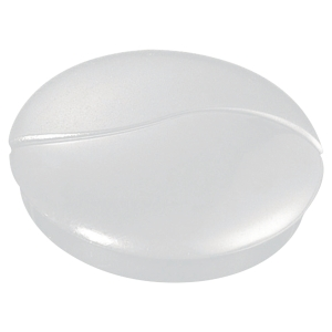 Lyreco round magnets 37mm white - box of 3