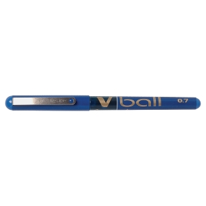 Pilot V-Ball Roller Ball Blue Pens 0.5mm Line Width - Box of 12