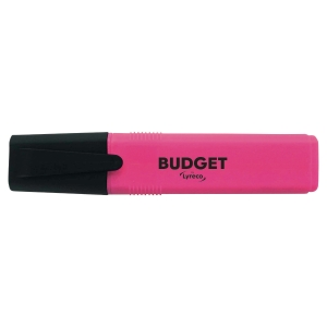 lyreco budget highlighters - pink